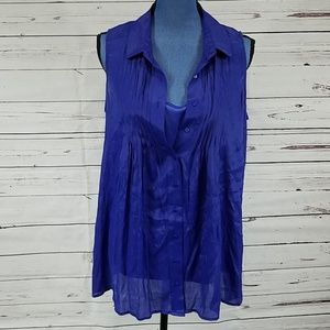 NWT Vibrant Purple Tank Tops by Fever